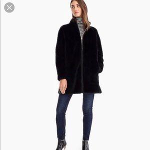 J.Crew Zip up Teddy Coat
